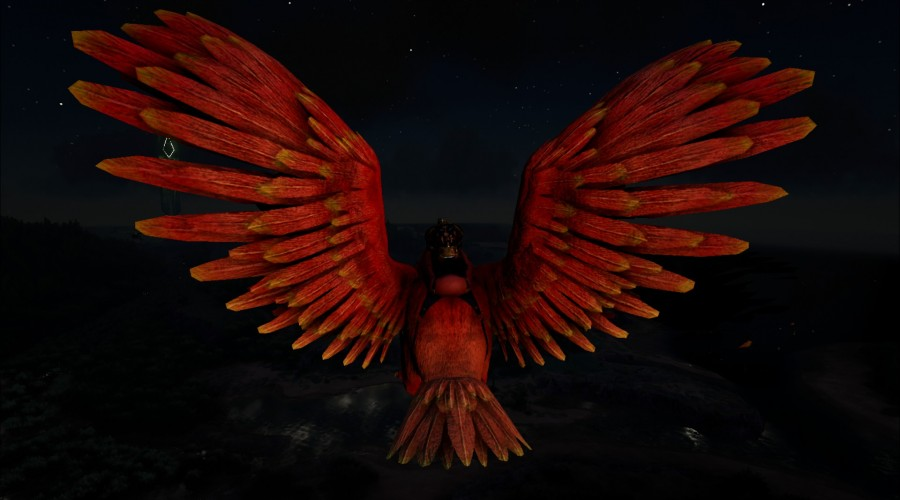 Ark paint paints templates ark survival evolved the very argentavis phoenix v2 malvernweather Image collections