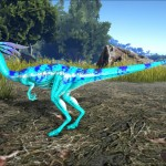 Blue Chameleon Compy