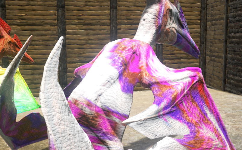 how to make purple paint in ark