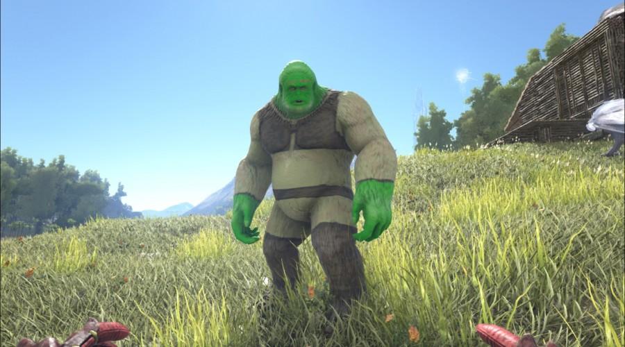 Shrek   ARK:Paint   The Best Paint ARK Warpaint ARK ...
