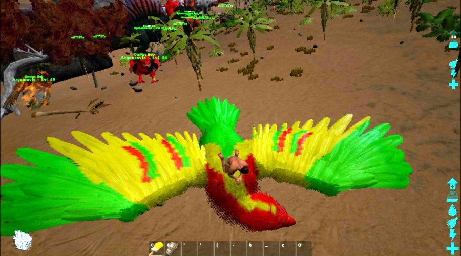 how to use ark paint skins