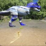 Blue Camouflage Rex