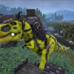 Yellow and Black TRex