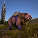 BaffledShadows Direbear – Blue and Purple