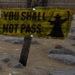 GANDALF – YOU SHALL NOT PASS