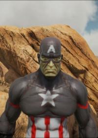 Captain America   ARK:Paint   The Best Paint ARK Warpaint ...