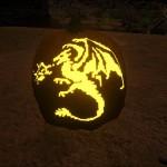 Wyvern Pumpkin Carving