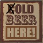 7 Days to Die (C)old Beer Sign