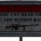 Warning: In Range
