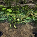Forest Camo Troodon