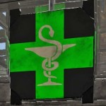 Pharmacy Green Sign