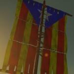 Estelada Catalonian Flag