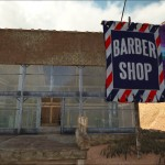 Barber shop flag