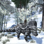 Snow Camo Pachyrhinosaurus