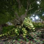Forest Camo Pachyrhinosaurus