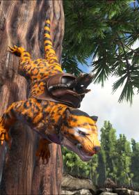 Leopard Thylacoleo Ark Paint The Best Paint Ark