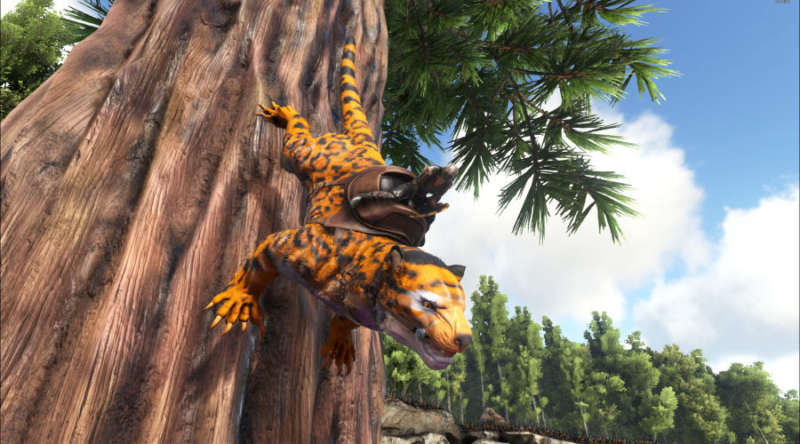 Leopard Thylacoleo Ark Paint The Best Paint Ark