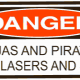 DANGER! Ninjas and Pirates and Lasers and Shit