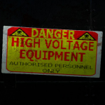 Danger-High Voltage Equipment