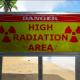 Danger-High Radiation Area