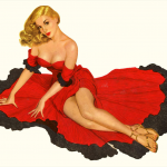 3×4 Canvas Pin-up