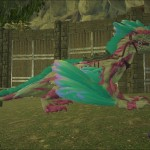 Dragon Drake white pinck and cian