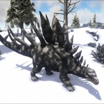 Snow Camo Kentrosaurus