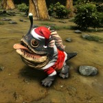 Santa Bulbdog