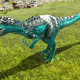 Bright Patterned Allosaurus