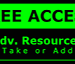 Metal Wall Sign – Access Advanced Recources – Green and Black
