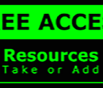Metal Wall Sign – Access Resources – Green and Black
