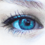 Blue Eye #1 – BigCanvas (512×512)