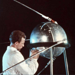 Sputnik satellite – Canvas (256×256)
