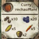 recette du curry