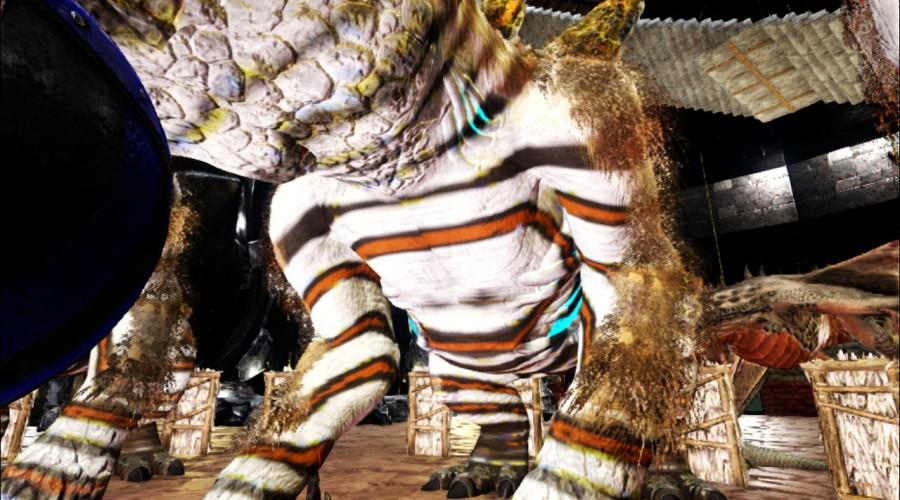Gacha White-Black-Brown Zebra   ARK:Paint   The Best Paint ...