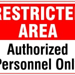authorized personel only